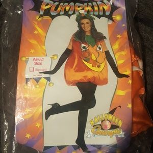 Women's pumpkin Halloween costume